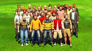 GTA 5 - WHICH STORY CHARACTER IS THE FASTEST?