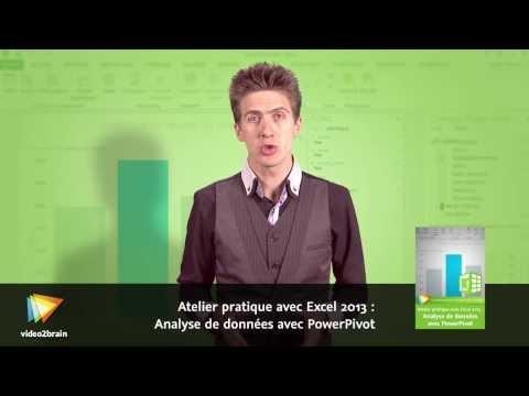 Atelier pratique avec Excel 2013 : Analyse de données avec PowerPivot