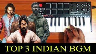 Top 3 Indian Bgm By Raj Bharath | Bahubali | KGF | URI | Prabhas | Yash |