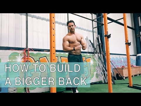 How To Build A BIGGER Back | Functional Bodybuilding Workout