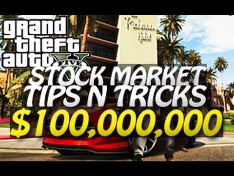 GTA 5 - $100,000,000 Stock Market Trick (Easy Money Tutorial) D