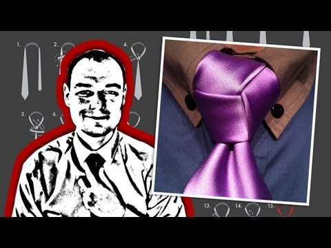 How to Tie a Trinity Knot - Mirrored Video