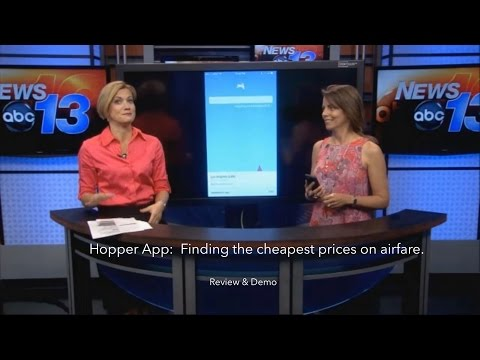 Hopper App - Find the lowest prices on airfare. Review & Demo.