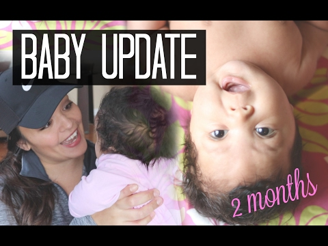 Kahea's 2 Month Update | Breastfeeding, Umbilical Hernia and Rolling Over?!
