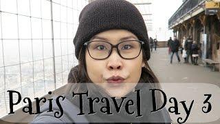 黑咪Travel | 上巴黎鐵塔凍個飽 + Mr Honey行李出現 Paris Travel Day 3