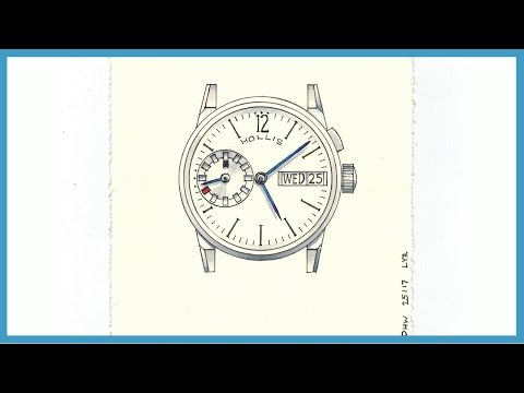 Drawing One Watch (in One Hour) | One Hour Watch