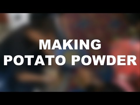 Tutorial #1 - Make Potato Powder