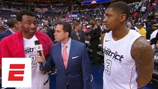 John Wall and Bradley Beal praise each other after Wizards
