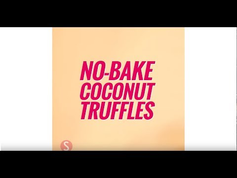 No-Bake Coconut Truffles | SHAPE