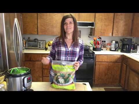 How to cook perfect frozen vegetables in the Instant Pot