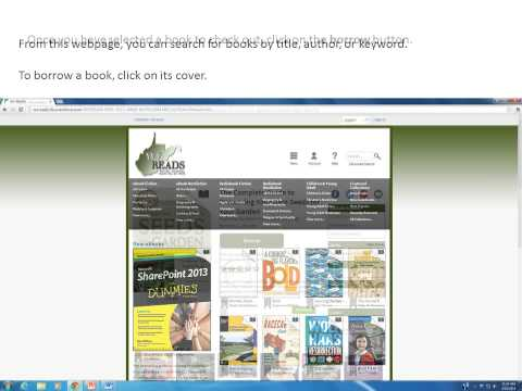 Using Overdrive on your Simple Kindle or Kindle Paperwhite   WV READS