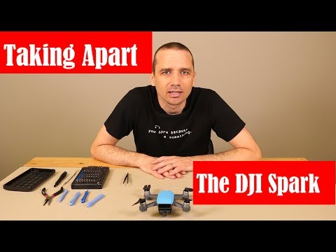 DJI Spark Teardown - Detailed Guide