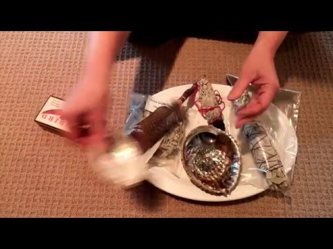 Smudging: How to Light White Sage  to use to clear your space
