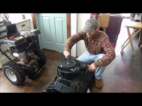Off Grid Repair: Craftsman Snow Thrower Auger Assembly Part 1