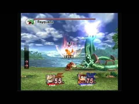 Let's Play Super Smash Bros. Brawl Part 7 Rayquaza