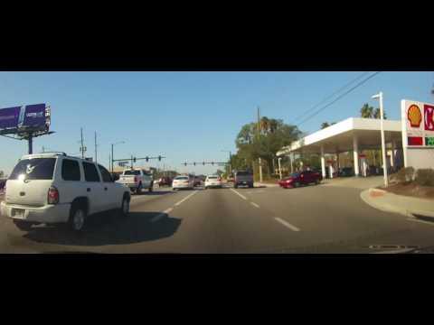 Driving around Orlando, Florida