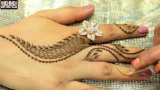 Romantic Girlish Mehndi Designs Within 2 mints|Trendy Henna Mehendi Art Tattoo|MehndiArtistica