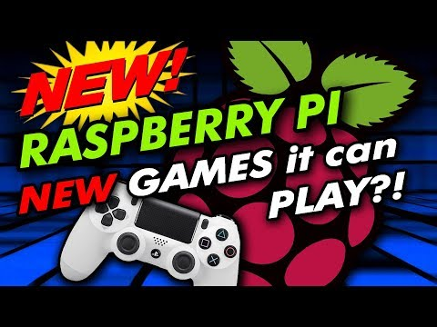 Raspberry Pi 3 Model B+ 2018 Review and NEW GAMES!!