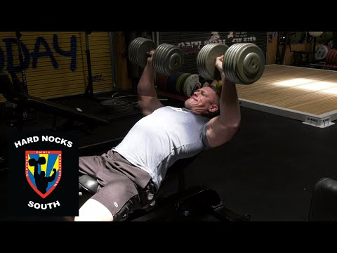 John Cena's funky wrists!?: Work capacity upper body training - Hard Nocks South Life