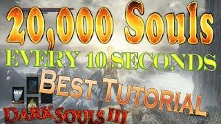 Dark Souls 3 Unlimited Souls Glitch / Exploit - Boss Souls Duplication Farming ( Infinite Souls )