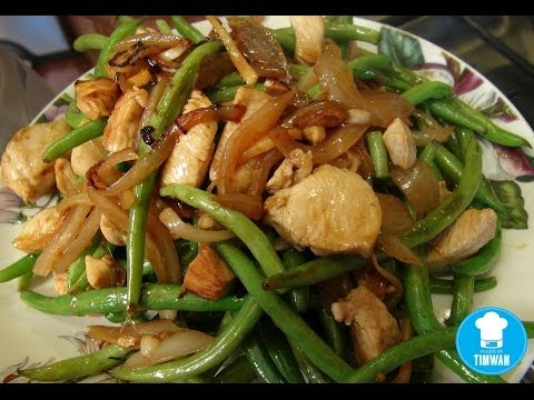 Quick Fire Recipe - Chicken and String Beans