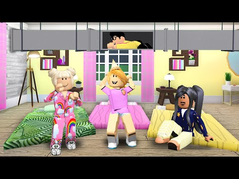 Xxx Mp4 I Snuck Into My Sister 39 S Sleepover And Exposed Her Embarrassing SECRET Roblox Bloxburg 3gp Sex