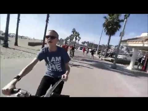 L.A Beach Ride - Selfie Stick