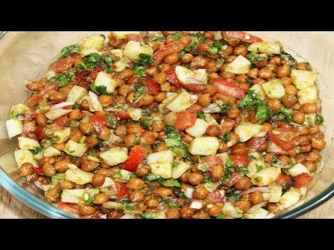 Aloo Chana Chaat Recipe In Hindi | चना चाट | Delicious Chaat Recipe | Aloo Chaat Recipe
