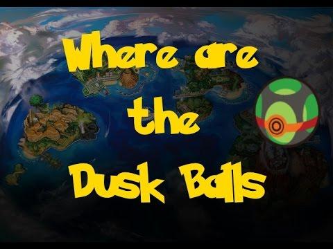 Where Are: The Dusk Balls (Pokemon Sun/Moon)