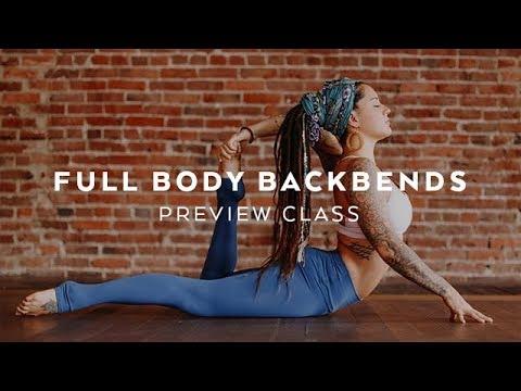 Full Body Yoga Backbends with Steph Gongora