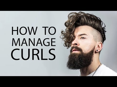 5 TIPS FOR GUYS WITH CURLY HAIR | How to Style Curly or Wavy Hair | ALEX COSTA