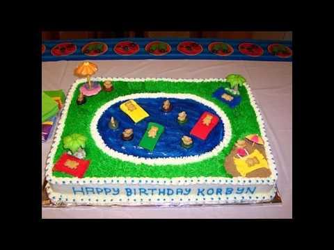 Creative Kids cake decorations ideas