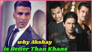 Why Akshay Kumar is Better than Khans | This Video is The Proof