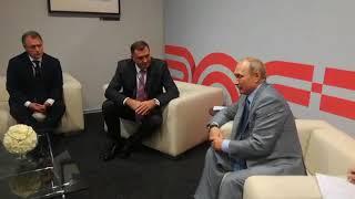 Sastanak Dodika I Putina U Sočiju