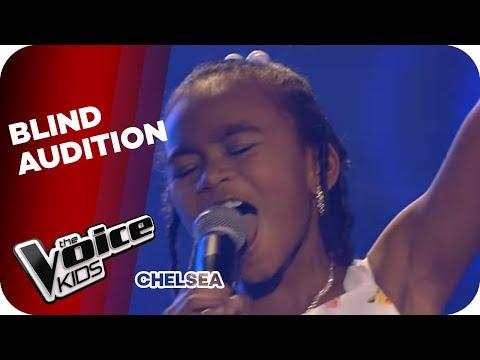 Alicia Keys - Girl On Fire (Chelsea)   The Voice Kids 2013   Blind Audition   SAT.1