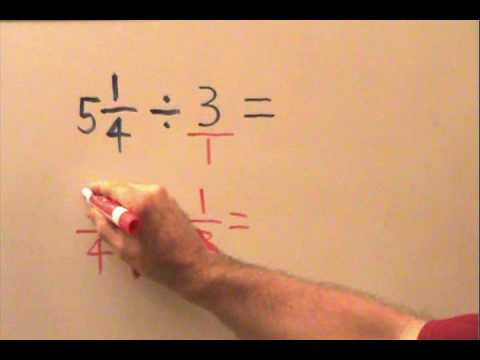 Division of Fractions Part 2