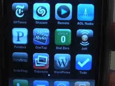 AOL and Pandora Radio for iPhone