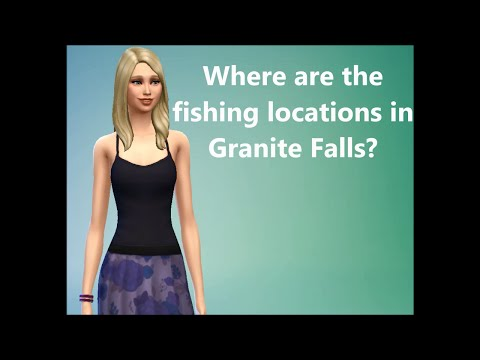 Sims 4 FAQ: Where are the fishing locations in Granite Falls?