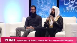 STORY OF HARSH MUSLIM MAN & HIS KIDS    MUFTI MENK & MOEEN ALI