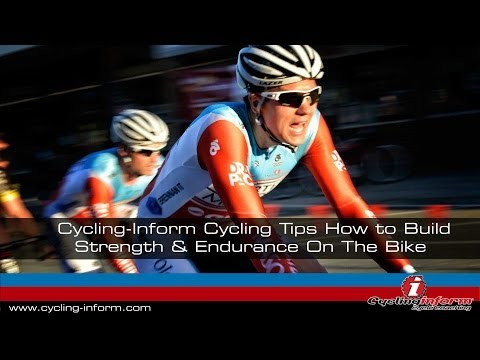 Cycling Tips - How to Build Speed And Endurance On The Bike