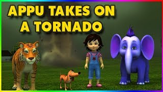 Short Stories for Kids - Appu takes on a Tornado