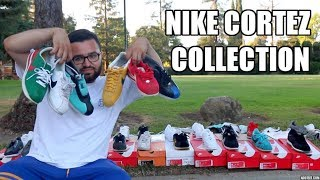 MY FULL ENTIRE NIKE CORTEZ COLLECTION! (38 PAIRS!)