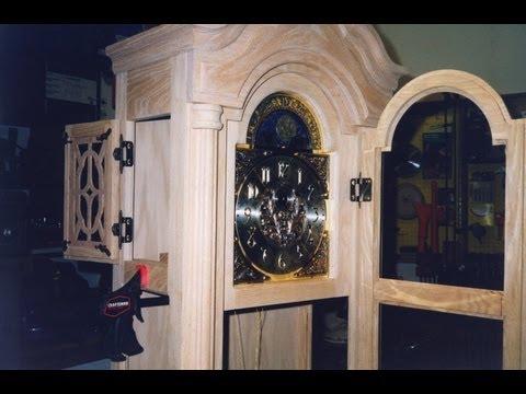 DIY Oak Grandfather Clock - Create a Family Heirloom