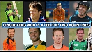 Top 5 - Cricketers who have played for 2 countries - Part 1 | SC# 143