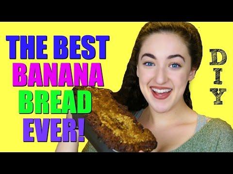DIY HOW TO MAKE THE BEST BANANA BREAD EVER!   BANANA BREAD RECIPE MOIST