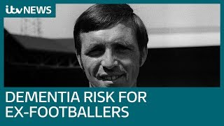 Former professional footballers more likely to die of dementia, report reveals | ITV News