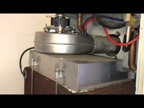How to replace the fan on your boiler. Easy!!!