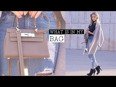 WHAT'S IN MY BAG | ft Teddy Blake In Toronto