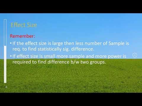 Sample size estimation using openepi for RCT/cohort