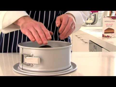Zumbo Baking - Milk Chocolate Mousse Cake (Step 2: The Base)